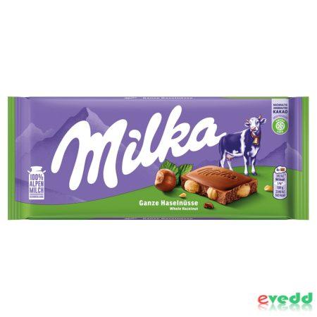 Milka 100Gr Egész Mogyorós