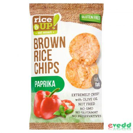 Rice Up Chips Paprikás 60 gr