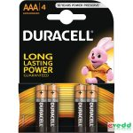 Duracell Basic AAA Mikro elem 4db