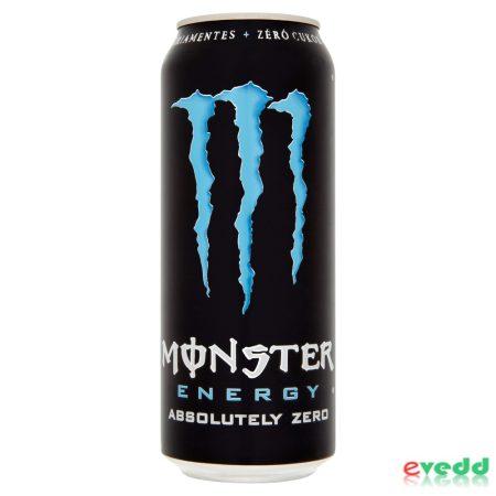 Monster Absolutely Zero 0,5L  Dob