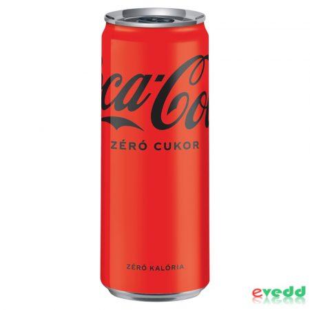 Coca Cola Zéró 0,33 Dob