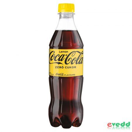Coca Cola 0,5L Zero Lemon
