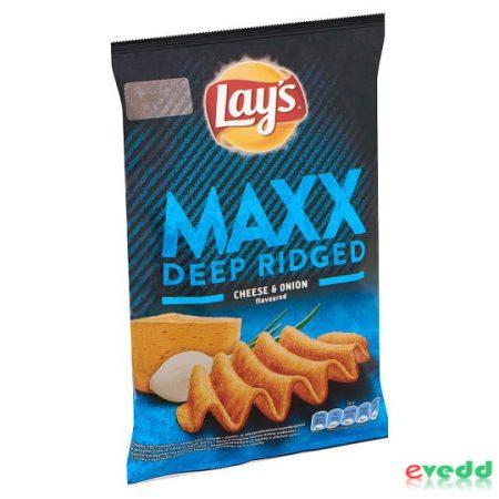 Lays Max 65Gr Sajtos-Hagymás