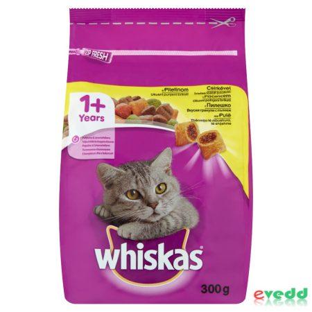 Whiskas cs.húsos-zöldséges töltött falatok száraz 300g