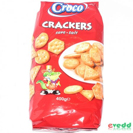 Croco Crakers Sós 400 gr.