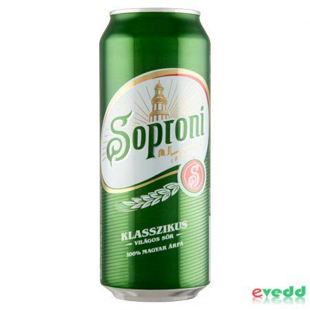 Soproni 0,5L Dob