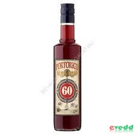 Portorico Rum 60% 0,5 lit