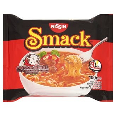 Smack Inst.Tészta 100G Csípős Marha