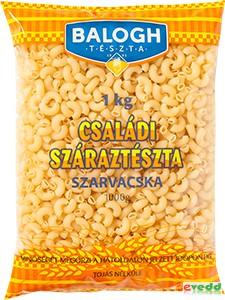Balogh Családi Tészta Szarvacska 1Kg