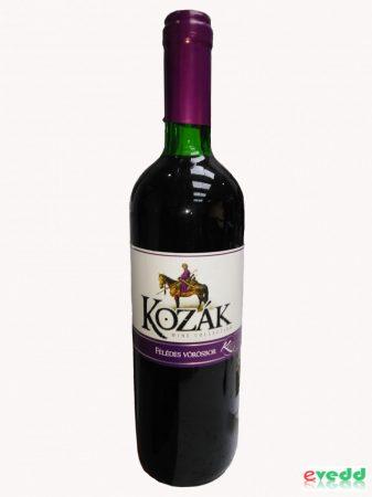 Kozák 0,75L Vörösbor