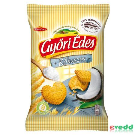 Győri édes keksz 180gr kókuszos
