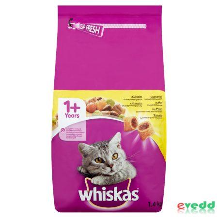 Whiskas száraz csirke 1,4 kg