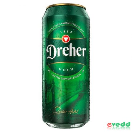 Dreher Gold 5% 0,5L Dob.