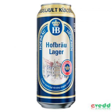 Hofbrau München Lager 0,5L Dob