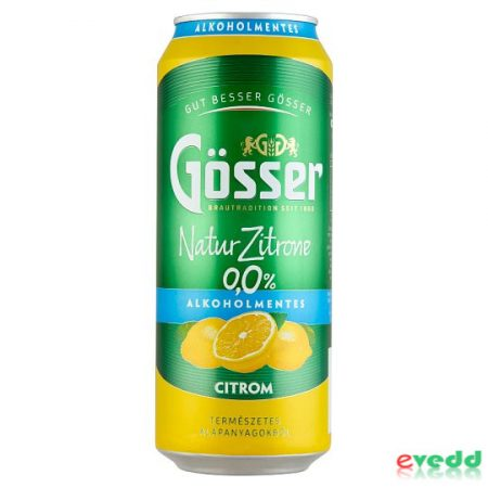 Gösser Natur Citrone Alk.Men. 0,5L Dob