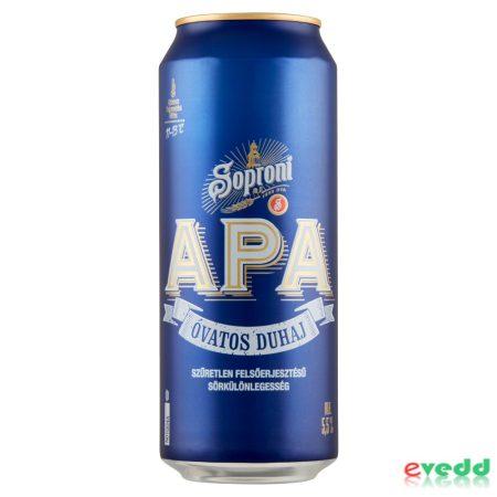 Soproni Óvatos Duhaj Apa 5,5% 0,5L Dob