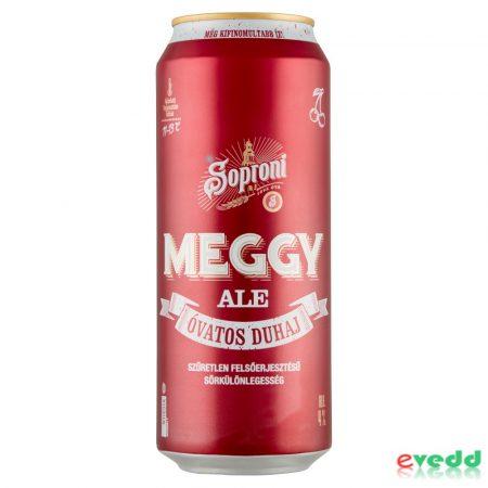 Soproni Meggy Ale 4% 0,5L Dob