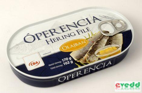 Óperencia Hering Filé Olajban 102 gr
