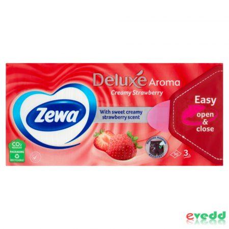 Zewa Delux Papírzsebkendő 90Db Menthol