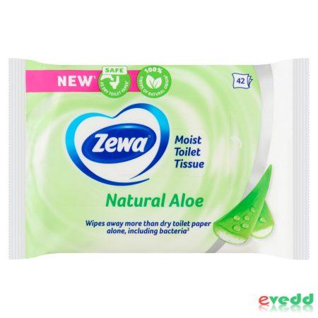 Zewa Nedves Toilette Papír 42Db Aloe Vera