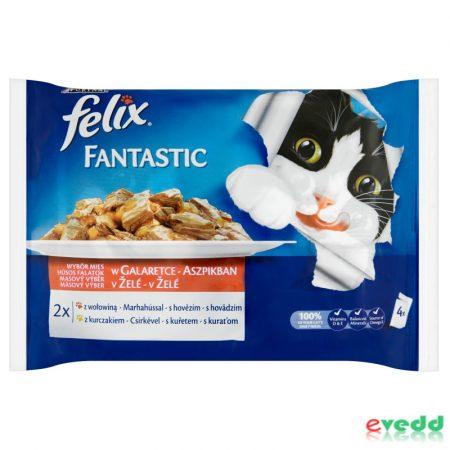 Félix 4*100g macska fantastic falat marh