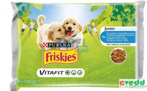 Friskies junior multiaszpikos 4x100g