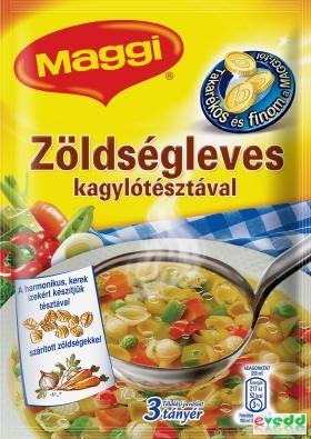 Maggi Zöldségleves 46G Kagylótésztával
