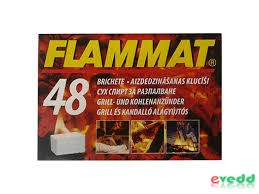 Flammat Alágyújtós 48Db