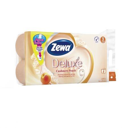 Zewa Deluxe Eü.Papír 8T Cashmere Peach