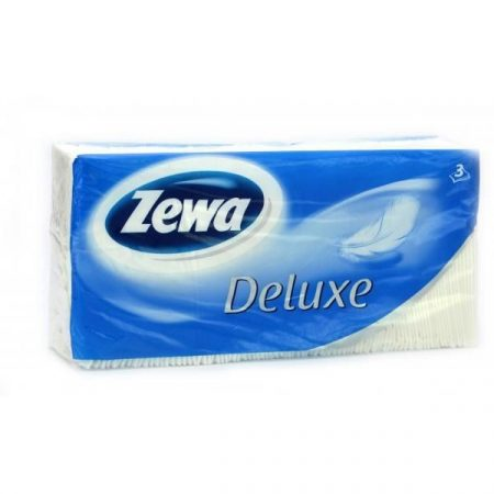 Zewa Delux Papírzsebkendő 90Db