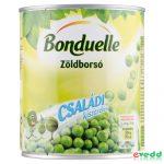 Bonduelle Zöldborsó 800/530Gr Családi