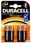 Duracell Ultra Power Ceruza Elem AA 4Db