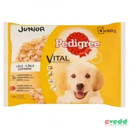 Pedigree Alutas 4*100G Junior Bonus Pack