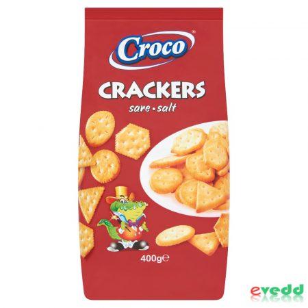Croco Crakers Sós 400 gr.