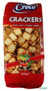 Croco Crackers Szezámos  400 Gr.