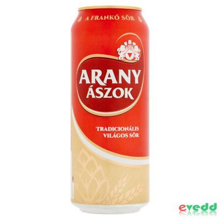 Arany Ászok sör 0,5l Dob