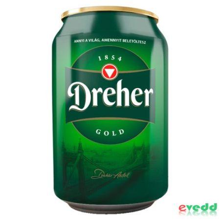 Dreher Gold 0,33L