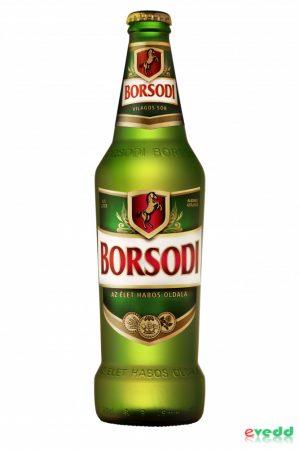 Borsodi Világos 0,5L Pal