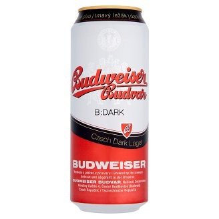 Budweiser Dark 0,5L Dob